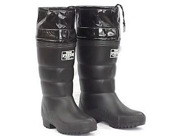 第一ゴム 紳士フレッシュ 防寒長靴 27.0cm 黒 国産 寒冷地使用