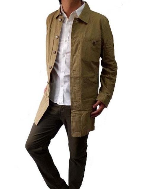 キャンパスデザインショップコートMカーキ新品※2点送料無料 < 男性ファッションの