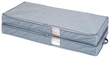 竹炭着物収納ケース 2層式
