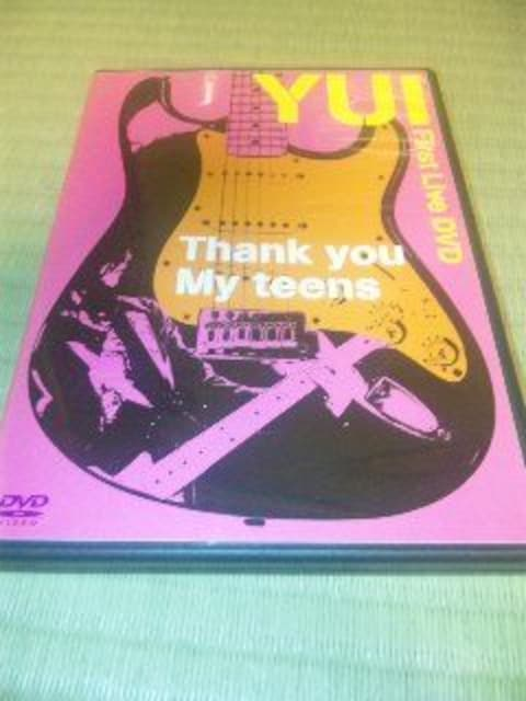 DVD:YUI/Thank you My teens < タレントグッズ