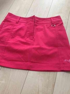 プーマゴルフピンクスカート