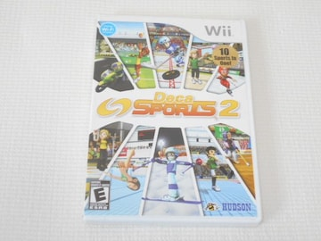 Wii★Deca SPORTS 2 海外版(国内本体動作不可)