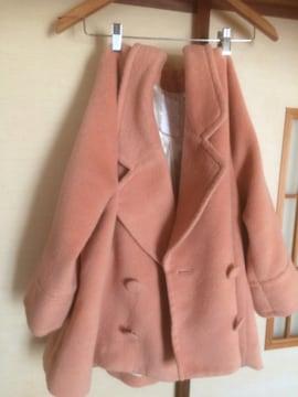 EHG*ピンク厚手暖かコート