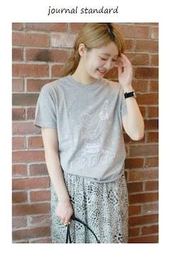ジャーナルスタンダード*journal standard★SPACE BURGER Tシャツ/新品
