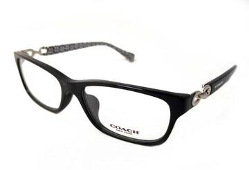 正規未使用コーチ眼鏡メガネフレームめがね5214ロゴチェーン