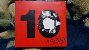 KAT-TUN 10TH ANNIVERSARY BEST 3枚組ベスト 難有り
