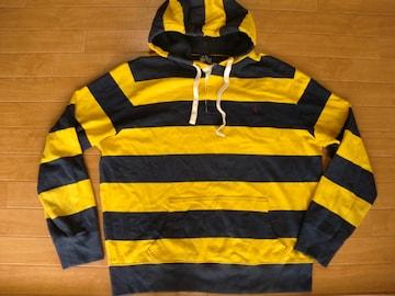 ラルフローレン ラガーシャツ風 パーカー USA−XL