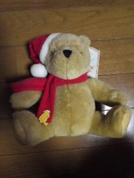 クラッシックプー クリスマスぬいぐるみ