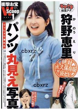 狩野恵理 永久保存版袋とじ開封 3ページ
