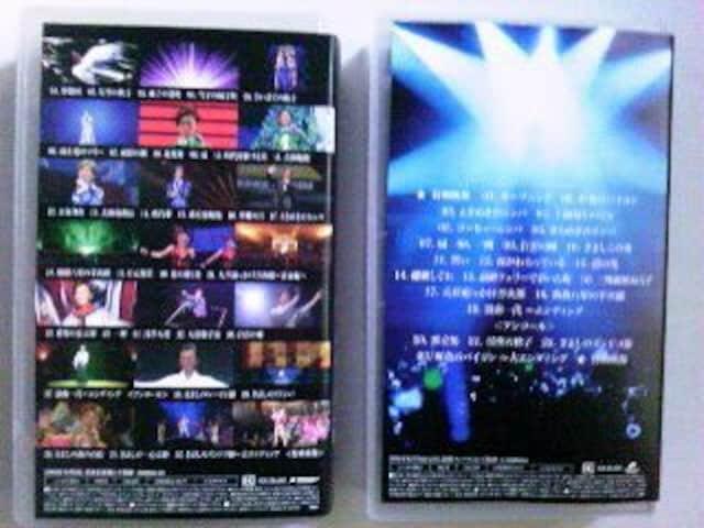 氷川きよし FC限定 デビュー10周年記念+スペシャルバージョン2010 2本VHS < タレントグッズの