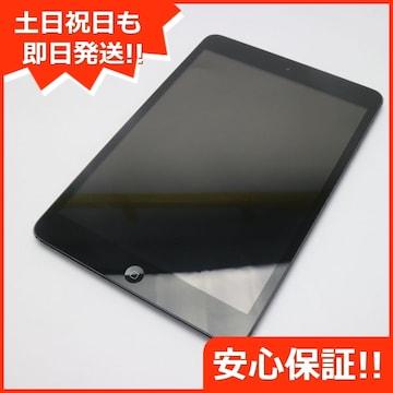 ●良品中古●iPad mini Wi-Fi16GB ブラック●