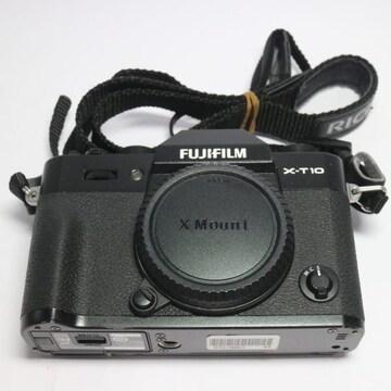 ●安心保証●美品●FUJIFILM X-T10 ブラック●