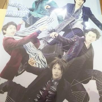 嵐 クリアファイル  2014 ライブ グッズ