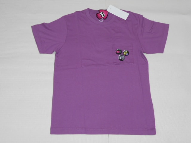 UNIQLO スプラトゥーン 半袖Tシャツ パープル M  < ブランドの