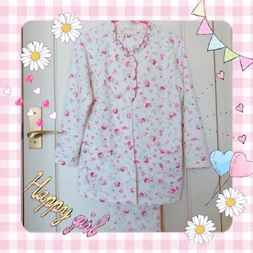 しまむら パジャマ 寝巻き ピンク