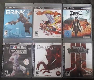 PS3北米版ソフト6本詰め合わせ福袋