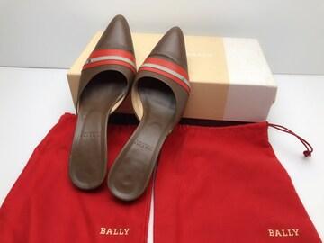 バリー 靴 シューズ ミュール 本革 レディース 37 袋付き 箱付き