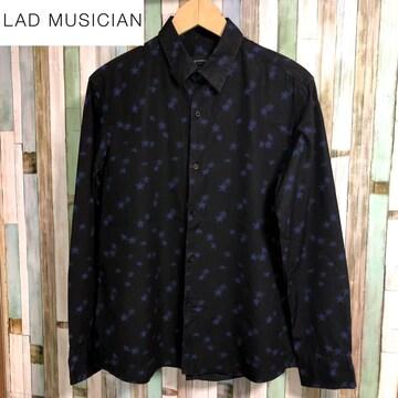 LAD MUSICIAN STAR【星】総柄 長袖シャツ
