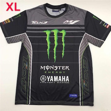 MONSTER YAMAHA TECH3 ドライTシャツ XLサイズ