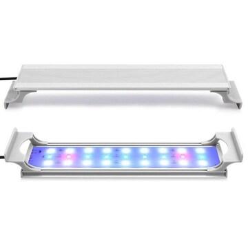 水槽 ライト 30CM 水槽用3色LED 照明 超薄い 水草育成