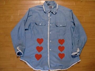 80年代 BIG MAC ビッグマック シャンブレーシャツ XL