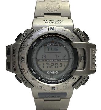 正規カシオ時計プロトレックハンティングワールドPRT-420