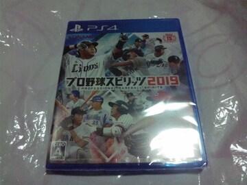 【新品PS4】プロ野球スピリッツ2019 プロスピ