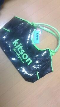 キットソンスパンコールトートバッグ
