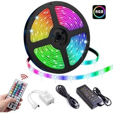LEDテープライト LEDテープ型 防水 5050両面テープ5 m 300ス