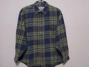 即決USA古着●AEアメリカンイーグルチェックデザインネルシャツ!アメカジ・ビンテージ