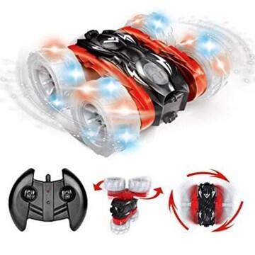 リモコンカー 電動ラジコンカー スタントカー 360度回転 ジャン