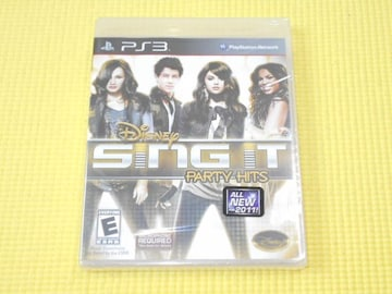PS3★DISNEY SING IT PARTY HITS