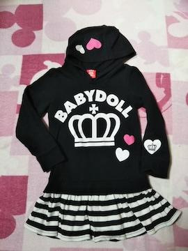 BABY DOLLワンピース110美品