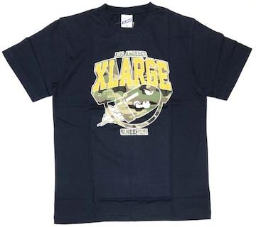 XLARGE×SUPER MARIO エクストララージ コラボTシャツ M NVY