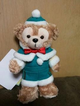 2014.11.4発売★クリスマス★ダッフィーのぬいぐるみバッジ