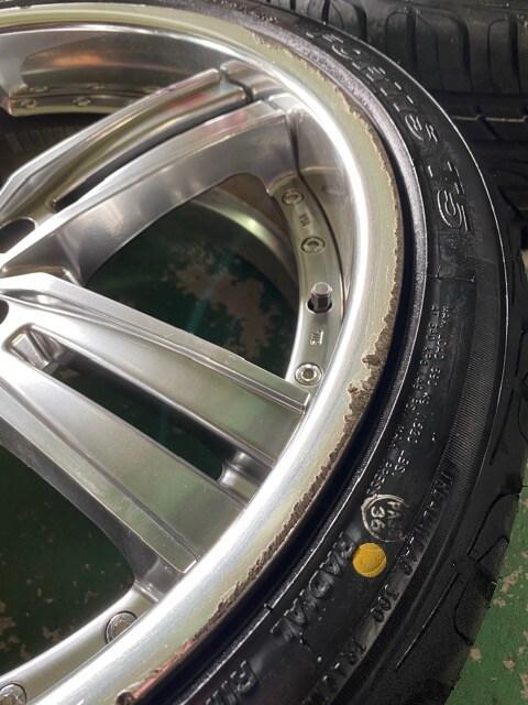7071509)激安ウェッズマ-ベリック4本通し新品タイヤセット245/35ZR20送料無料 < 自動車/バイク