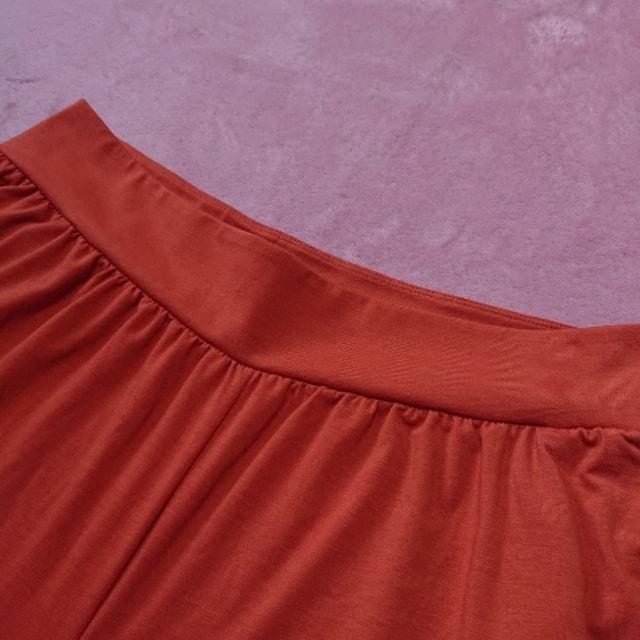 LLXL3L/新品エアリズム☆ワイドパンツ < 女性ファッションの