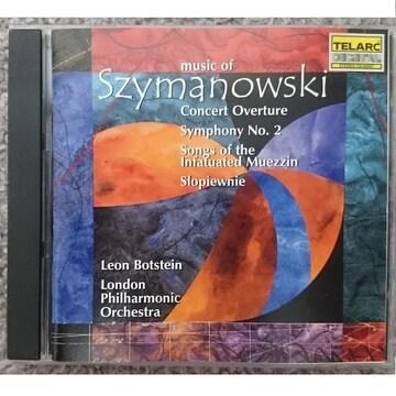 KF  シマノフスキ  コンサート序曲 交響曲第2番 ・他