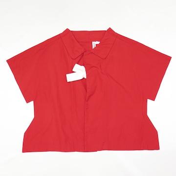 2012AW コムデギャルソン 二次元 ブラウス シャツ レッド 赤