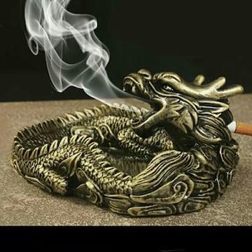 龍 ドラゴン 灰皿