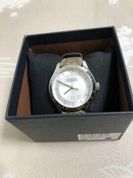 T085 美品★ COACH コーチ 30M  QZ 腕時計