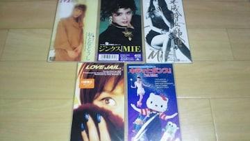 【廃盤新品】MIE(ピンクレディー) 8cmCDシングル 5枚セット☆
