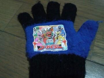 ★キッズ用ゴーカイジャー手袋/戦隊軍手ニット