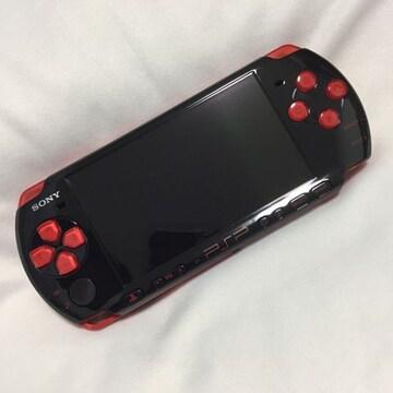 新品 PSP ブラック/レッド PSPJ-30020