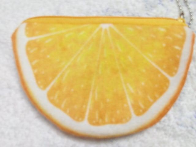 フルーツポーチ3つセット未使用スイカオレンジ