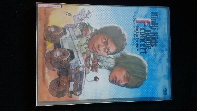 KinKi Kids Dome F concert Fun Fan Forever DVD 堂本剛   < タレントグッズの