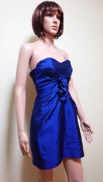 キャバ☆ALEXXIA  ADMORシャカ�A光沢ブルーのドレス☆3点で即落