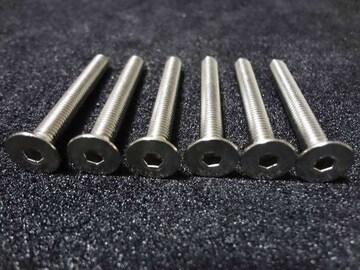 ボススペーサー50mm用 ステアリング取付ボルト M5x65mm SUS304