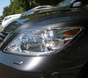 レクサス メッキヘッドライトリング LS460 LS600h LS600hL