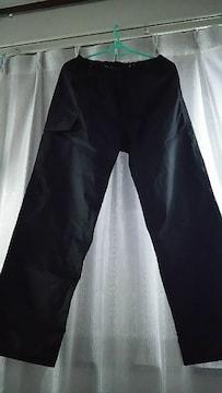 新品 ワークマン ◎ レイン パンツ  M 雨の日に ポケットあり機能的便利◎ 黒